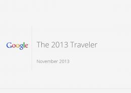 Google Informe 2013 Travelers