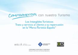 Estudio Melia: Marca Turística España