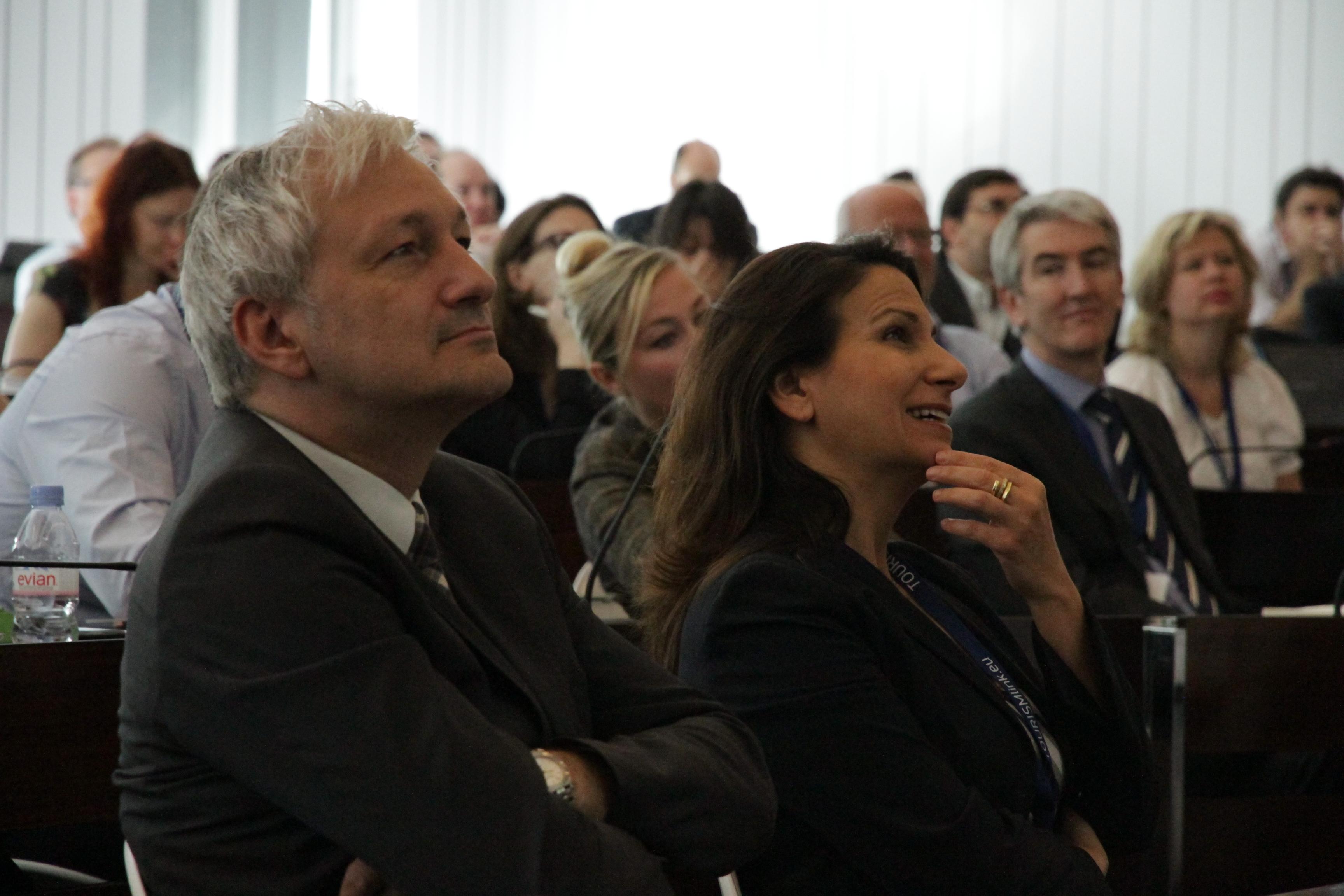 Profesionales europeos de la industria turística asistieron a la convención.