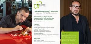 DIÁLOGOS DE ARQUITECTURA Y GASTRONOMÍA @ CentroCentro Cibeles, Auditorio Caja de Música | Madrid | Comunidad de Madrid | España