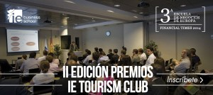 II EDICIÓN PREMIOS IE TOURISM CLUB @ IE Business School. Aula E-108 | Madrid | Comunidad de Madrid | España