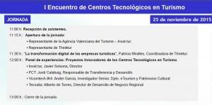 I ENCUENTRO DE CENTROS TECNOLÓGICOS EN TURISMO @ Invat.tur - Paseo Tolls, Nº2 | Benidorm | Comunidad Valenciana | España