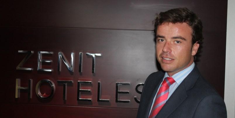 Javier Catalán, director general de Zenit Hoteles