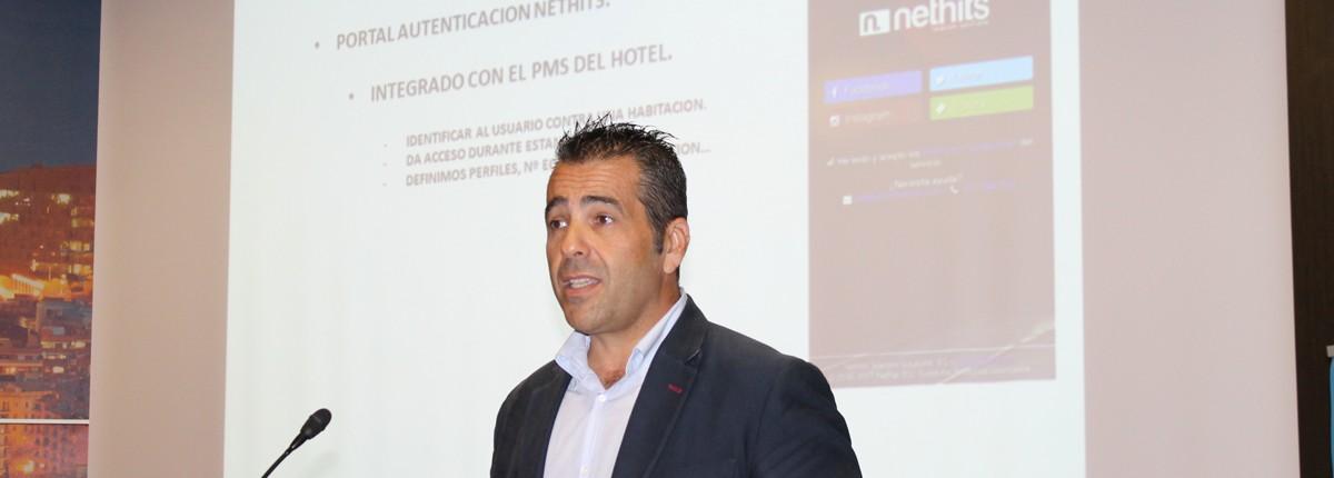 Daniel Just, director de unidad de negocio Hospitality en Nethits Telecom Group