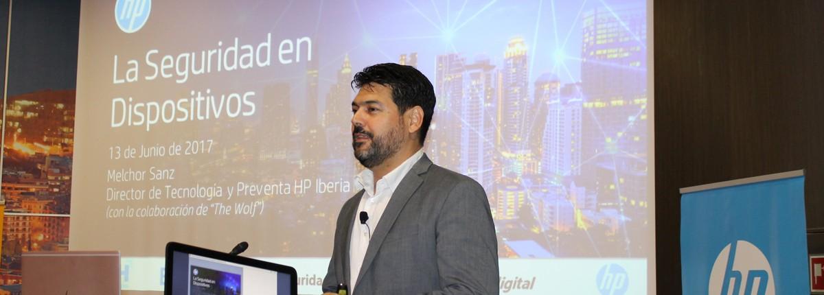 Melchor Sanz, director de tecnología y preventa en HP Ibérica