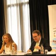 Tatiana Martinez, Juan Molas, Ramon Estalella, Jesús Gatell, Inauguración Asamblea ITH