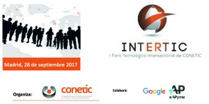 INTERTIC: I Foro Tecnológico Intersectorial de CONETIC @ Hotel NH Madrid Principe de Vergara | Madrid | Comunidad de Madrid | España