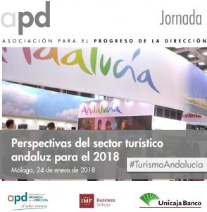 Jornada APD - Perspectivas del sector turístico andaluz para el 2018 @ Salón de Actos Unicaja Banco | Málaga | Andalucía | España