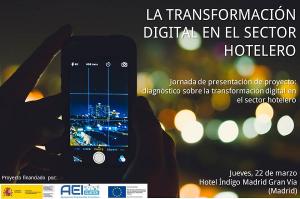 Jornada de presentación: La transformación digital en el sector hotelero @ Hotel Índigo Madrid Gran Vía | Madrid | Comunidad de Madrid | España