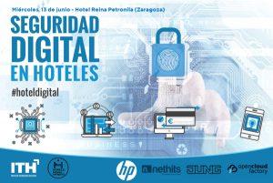 Jornada ITH - Seguridad Digital en Hoteles - Zaragoza @ Hotel Reina Petronila | Zaragoza | Aragón | España