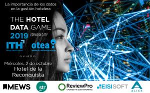 Jornada ITH - La importancia de los datos en el gestión hotelera - The Hotel Data Game 2019 - Oviedo @ EUROSTAR HOTEL DE LA RECONQUISTA | Oviedo | Principado de Asturias | España