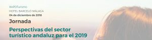 Jornada Perspectivas del sector turístico andaluz para el 2019 @ HOTEL BARCELÓ MÁLAGA | Málaga | Andalucía | España