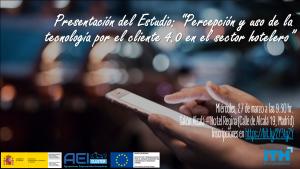 Presentación de Estudio: Percepción y uso de la tecnología por parte del cliente 4.0 en hoteles @ Hotel Regina | Madrid | Comunidad de Madrid | España