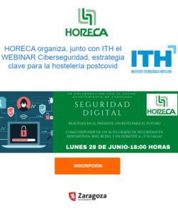 Webinar HORECA: Seguridad Digital, estrategia clave para la hostelería post-covid @ Online
