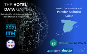 Jornada ITH - Digitalización e inteligencia del dato para afianzar la recuperación - The Hotel Data Game 2021 - Cádiz @ Parador Atlántico Cádiz | Costa Teguise | Canarias | España